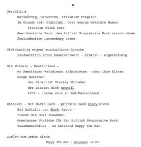 Stichwort-Sammlung