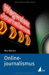 Nea Matzen: Onlinejournalismus