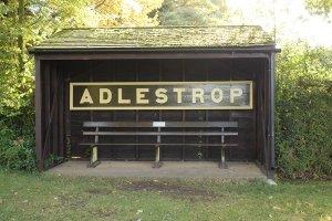 Das ehemalige Bahnhofsschild