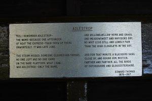 Das Gedicht zu Adlestrop